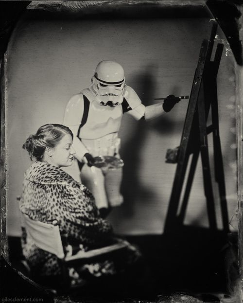 Giles Clement, tintypes