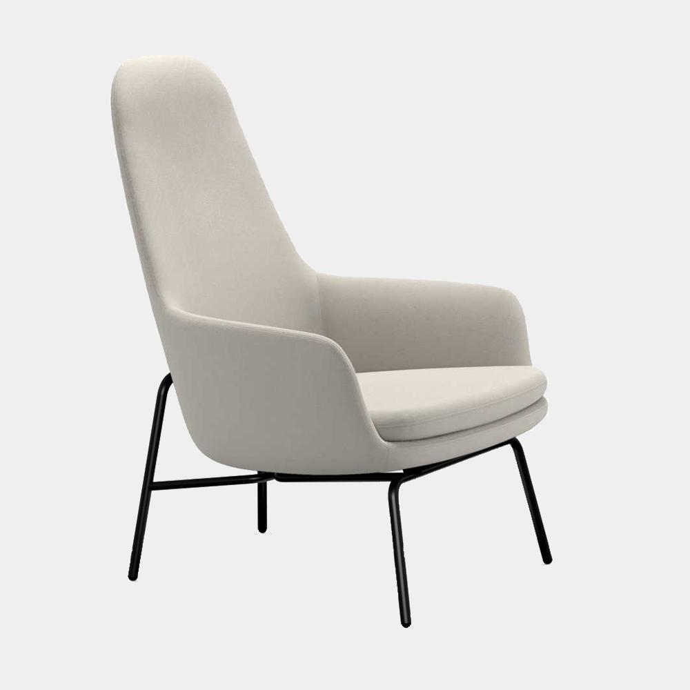 Era Lounge Chair High Metal Legs In 2020 Ikea Dining Chair Dining Chair Upholstery Modern Lounge Chairs