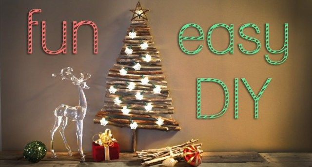 16 perfect design easy christmas decorations - Videos Of Decorated Christmas Trees