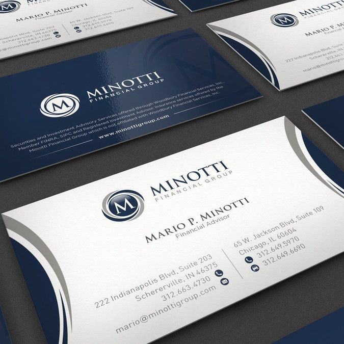 Create A Business Card For A Wealth Management Group Business Card Contest Business Card Design High Quality Business Cards Masculine Business Cards