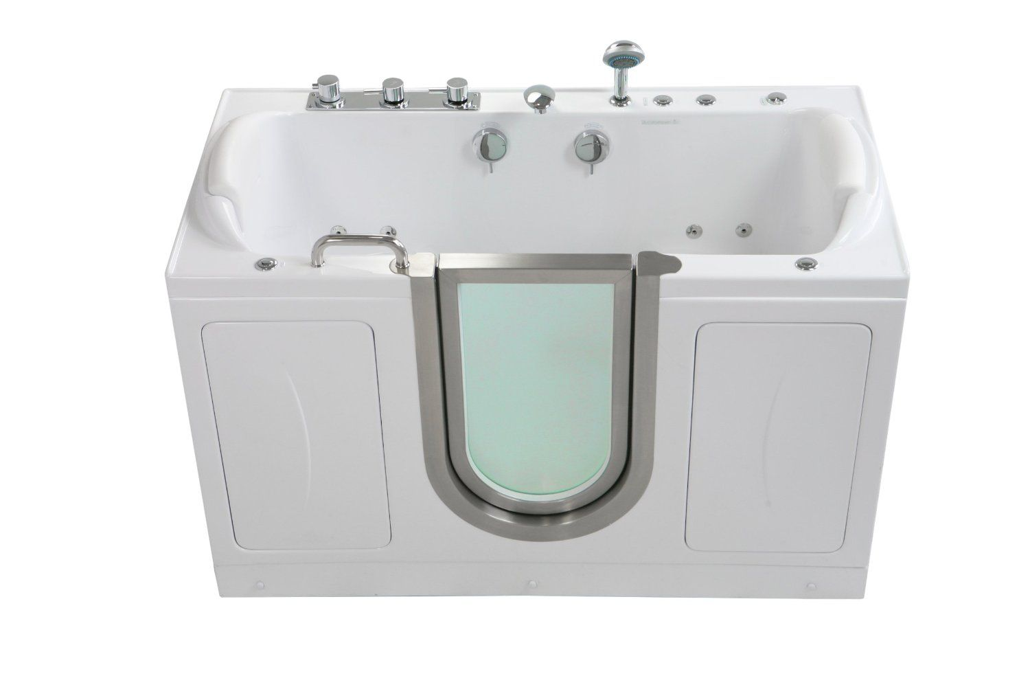 on useful walk tub endearing tubs idea shower doors bathtub tremendeous combo reviews inspiring bathtubs of in with