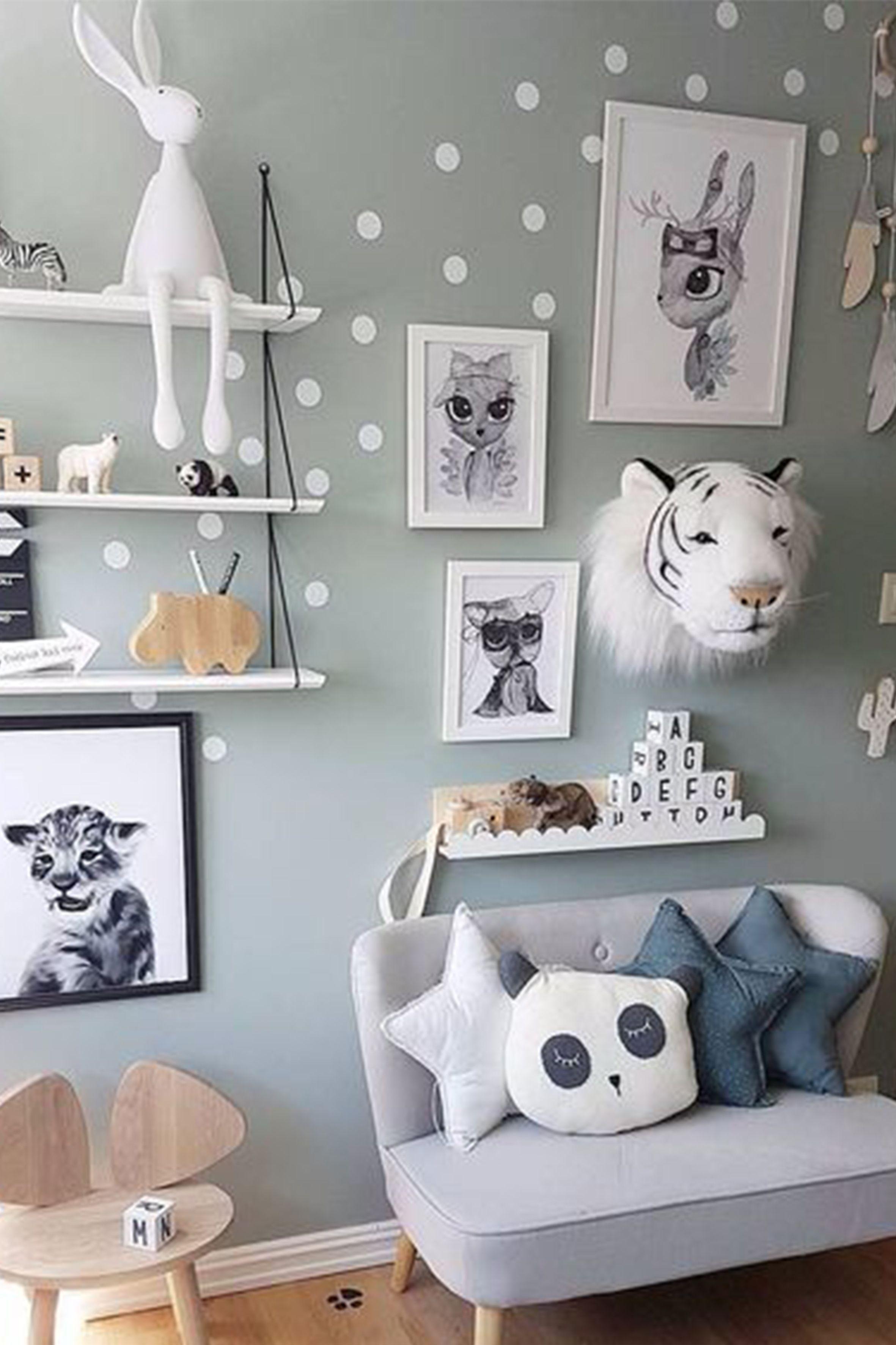 20 Deco Chambre Jungle Bebe  Kid room decor, Kids room design