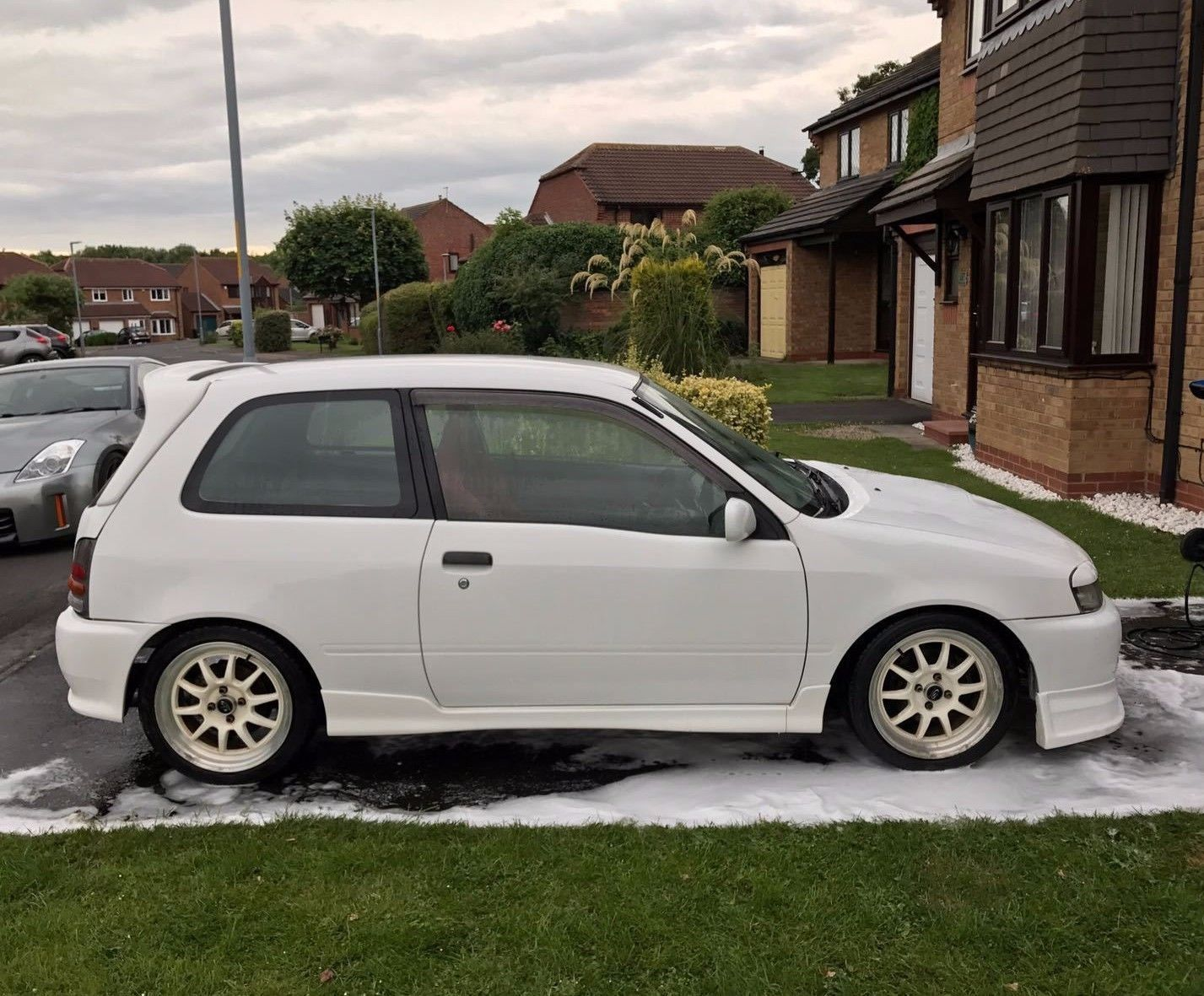 Looking For A Ep91 Toyota Starlet Glanza V Spec Turbo Jdm Modified Includes Reg R666 Emy This One Is On Ebay Toyota Starlet Toyota Turbo Car