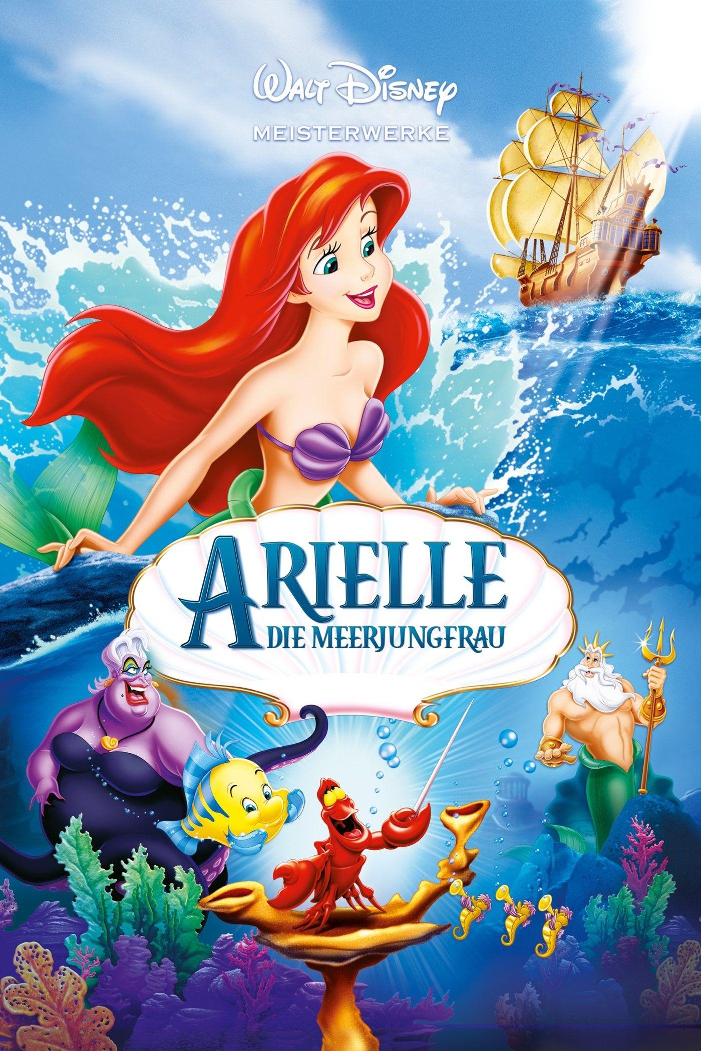 Arielle Die Meerjungfrau Kostenlos Online Anschauen 1989 Hd Full Film Deutsch Little Mermaid Movies Disney Movie Posters Little Mermaid Dvd