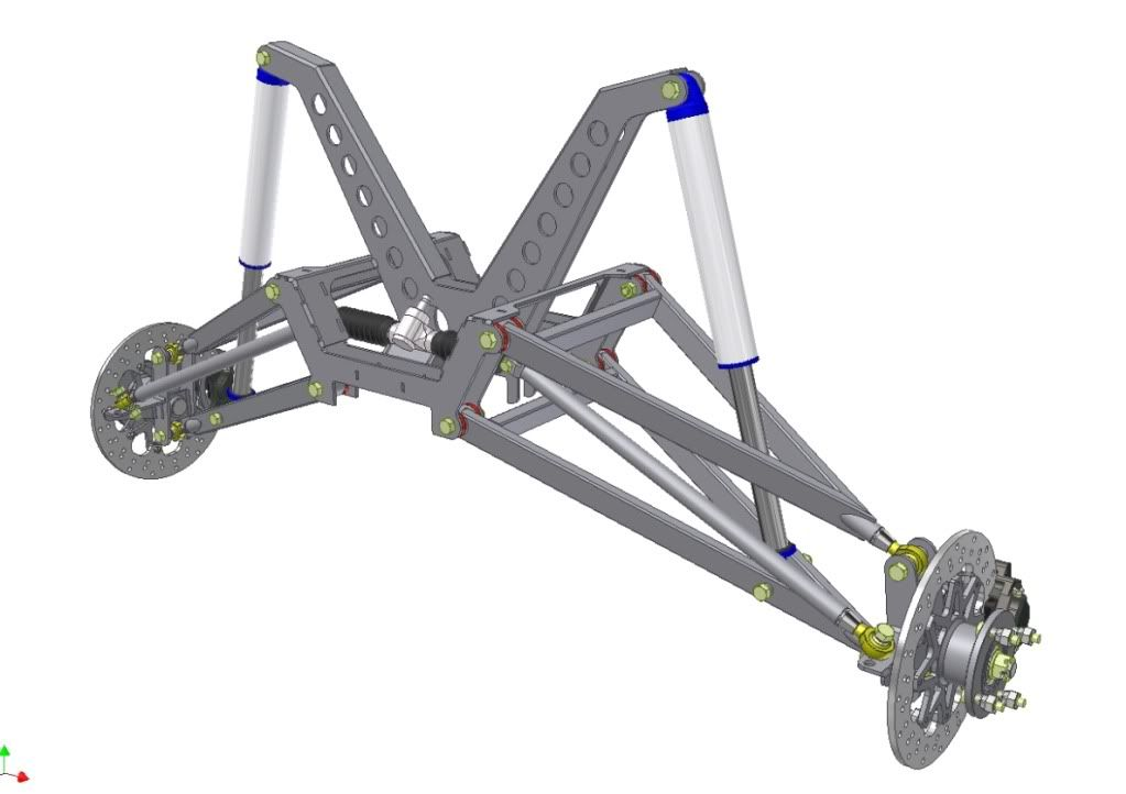 Buggy suspension product useful