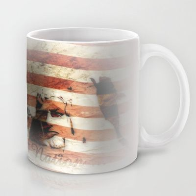 The Rise of a Nation Mug by pASob - $15.00