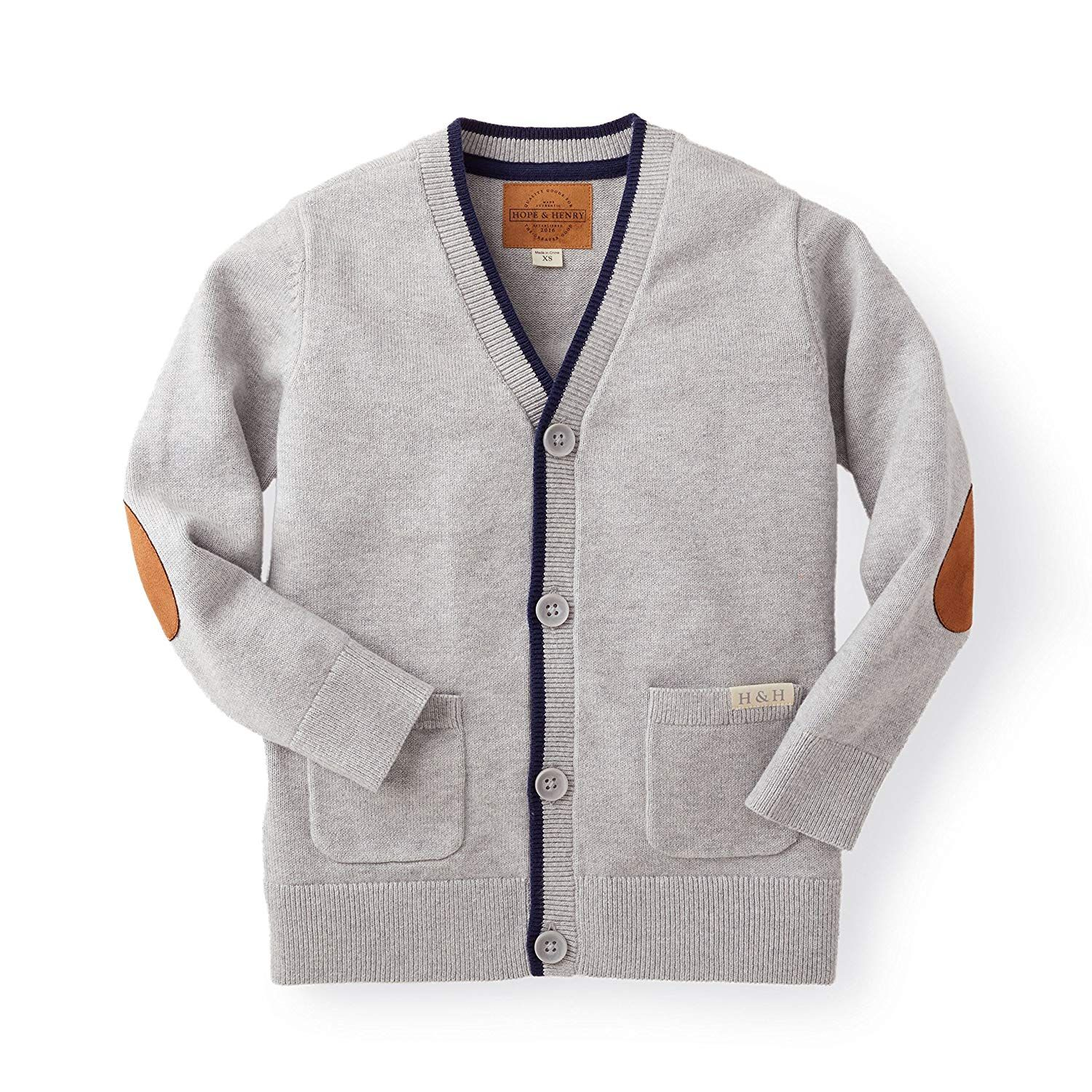 What to wear boys dressy holiday Hope & Henry Boys' Cardigan Sweater Made  with Organic Cotton…   Grey cardigan sweater, Knit sweater cardigan,  Quality kids clothes