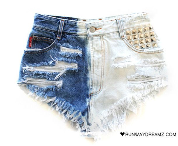 1000  images about High-waisted Short Shorts on Pinterest | Blue