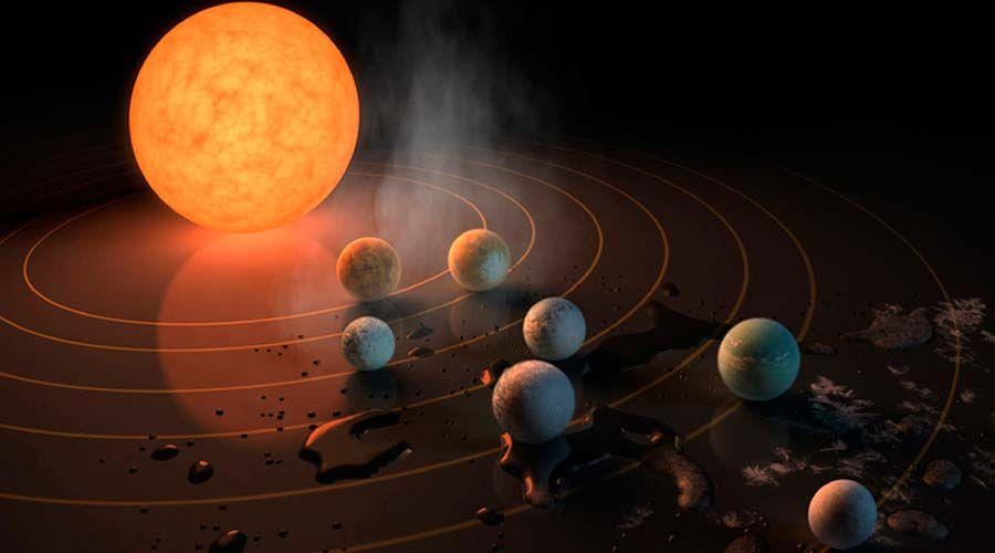 Este miércoles la NASA anunció el descubrimiento de un sistema solar con planetas similares a la Tierra, y en la redes sociales surgió la interrogante sobre cómo el eventual hallazgo de vida extraterrestre podría cambiar el cristianismo y su visión del universo.