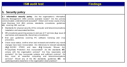 Information security audit checklist template for businesses 13 information security audit checklist template for businesses 13 samples template sumo fbccfo Image collections