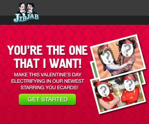 valentines day ecards valentines day is just around the corner now you can send valentines ecards and videos starring you from jibjab