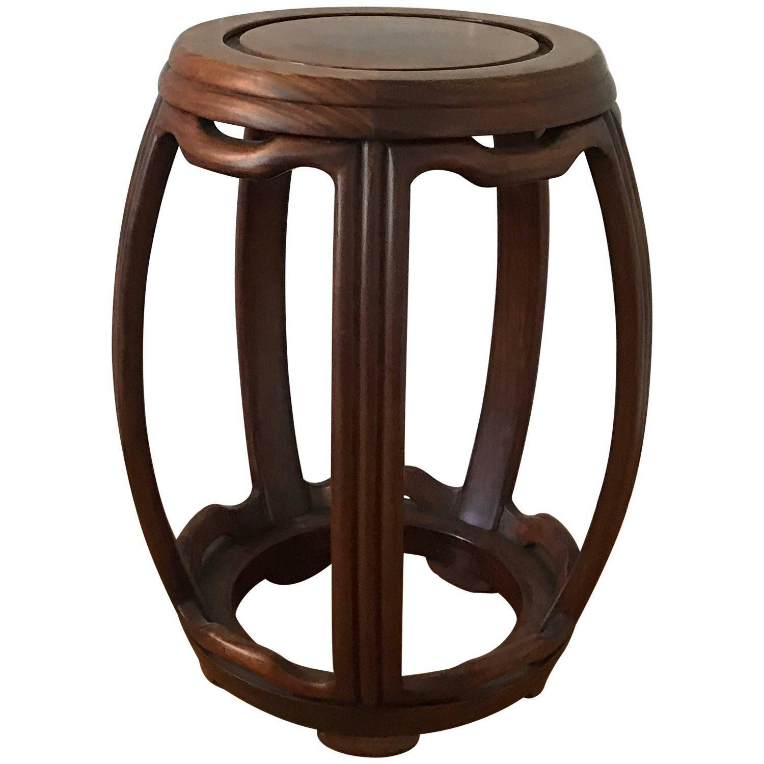 Fabulous 1950S Ming Style Wooden Garden Stool My 1Stdibs Favorites Alphanode Cool Chair Designs And Ideas Alphanodeonline