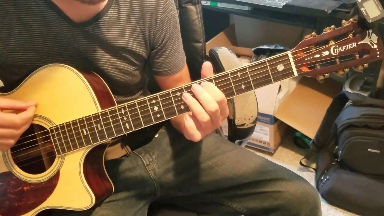 Crafter Acoustic Guitar Review With Playing Https Www Youtube Com Watch V L0waxe Rjuy Guitar Reviews Guitar Acoustic Guitar