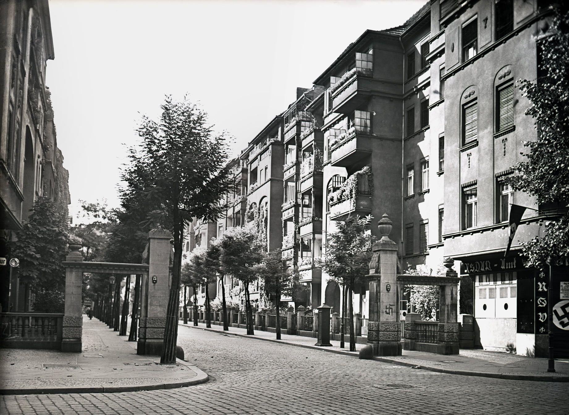 KNORRPROMENADE BerlinFriedrichshain etwa 1935