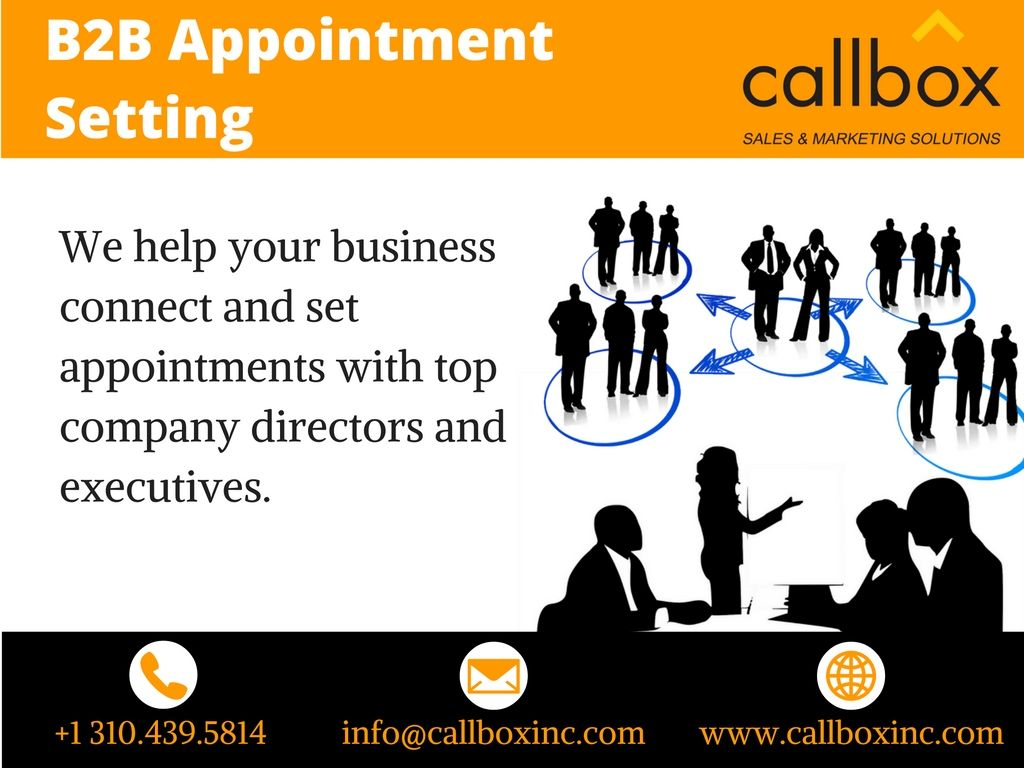 B2b Appointment Setting Company Specializes In Providing Qualified