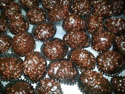 Resepi Biskut Ferrero Rocher Resep Biskuit Kukis Coklat Ide Makanan