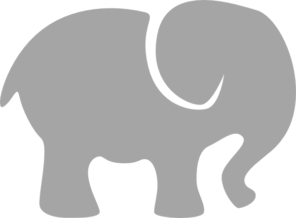 elephant silhouette clip art gray elephant clip art vector clip rh pinterest ca elephant clipart for kindergarten elephant clipart cute