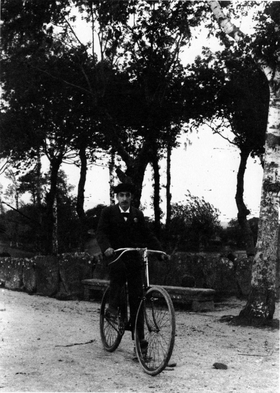 Home en bicicleta