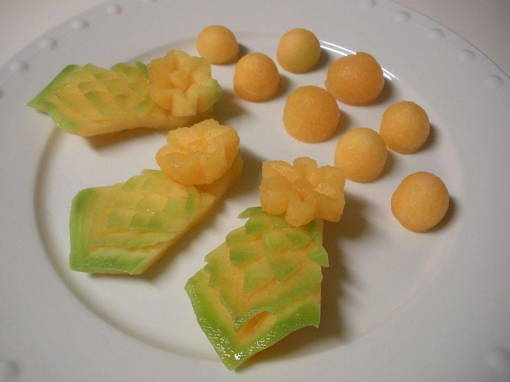 Cantaloupe plate