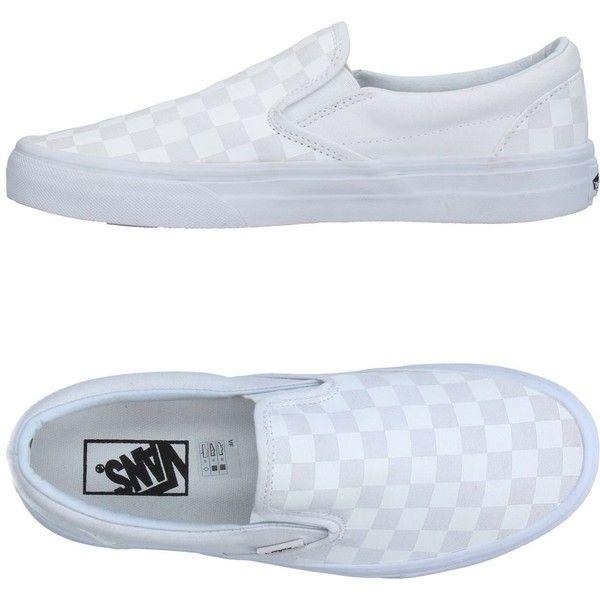 Vans sneakers, White flat shoes, Vans