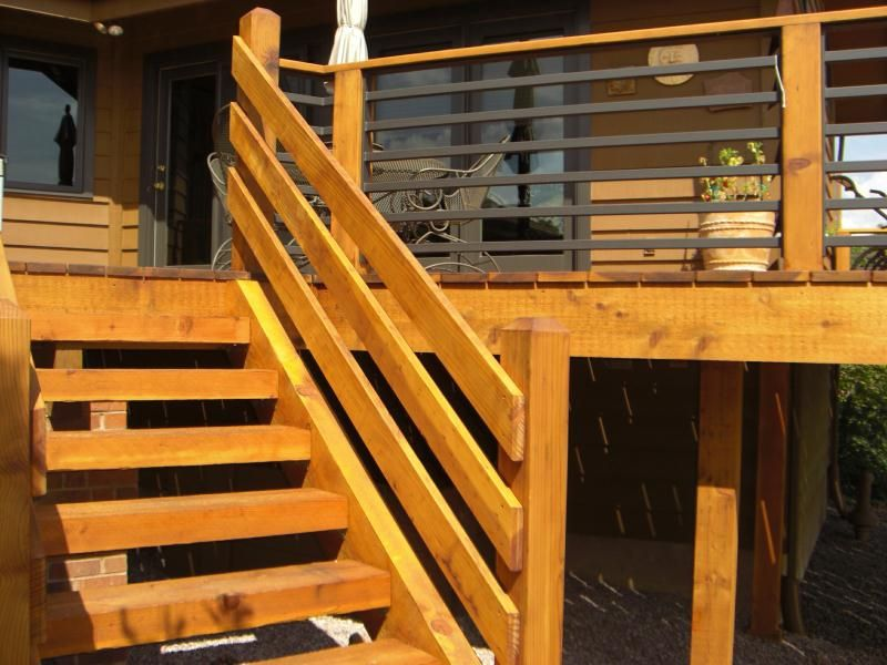 Best Portrayal Of Horizontal Deck Railing Embraces Every 400 x 300