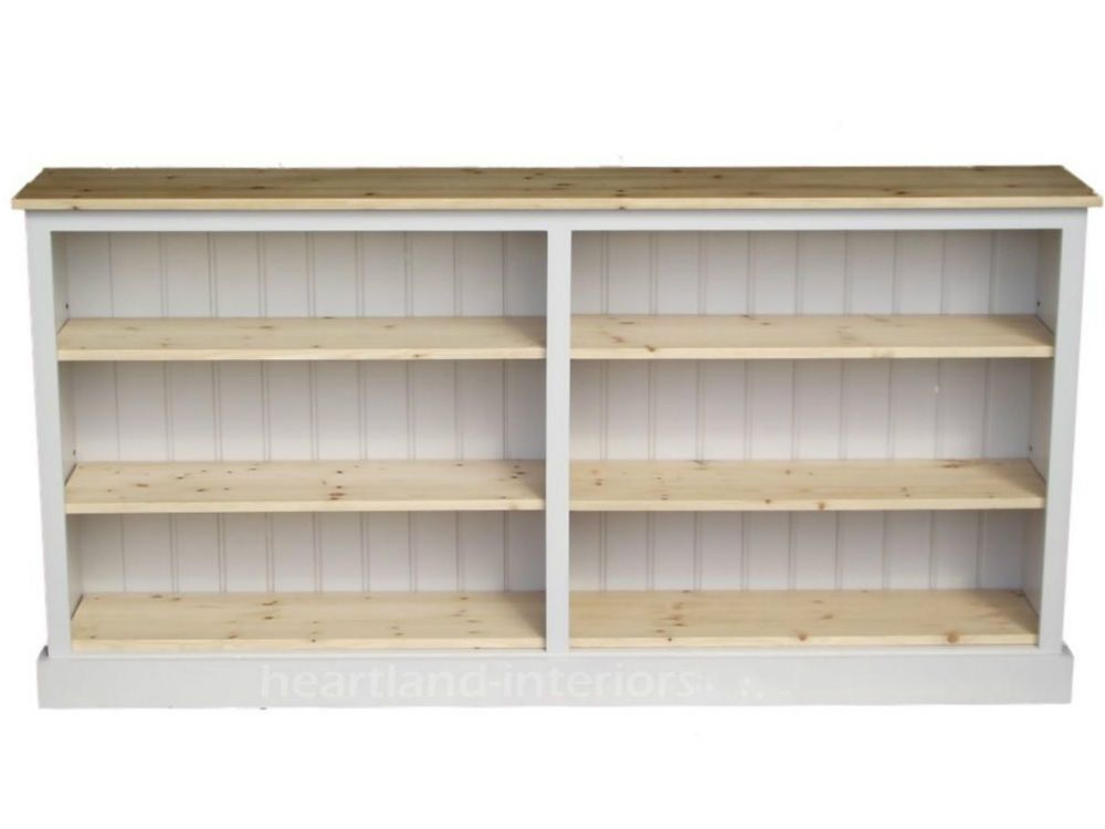new product 164f6 ce71e Details about Solid Pine Bookcase;Hand-Made & Painted Extra ...