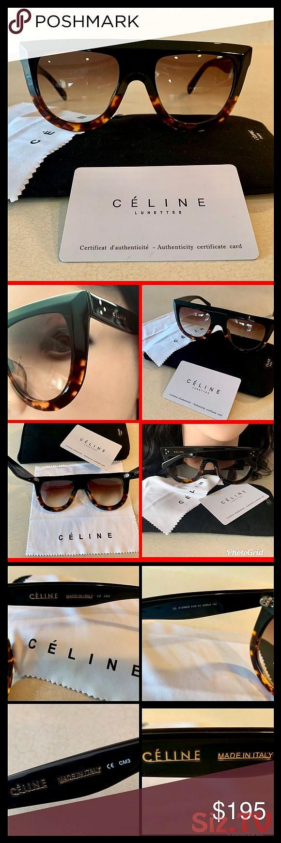 Celine Sunglasses Bought this in a Duty free store in Italy Milan early this year on my vacation and NEVER wore it Purchased for 465Tax This is Celine Sunglasses Bought t...