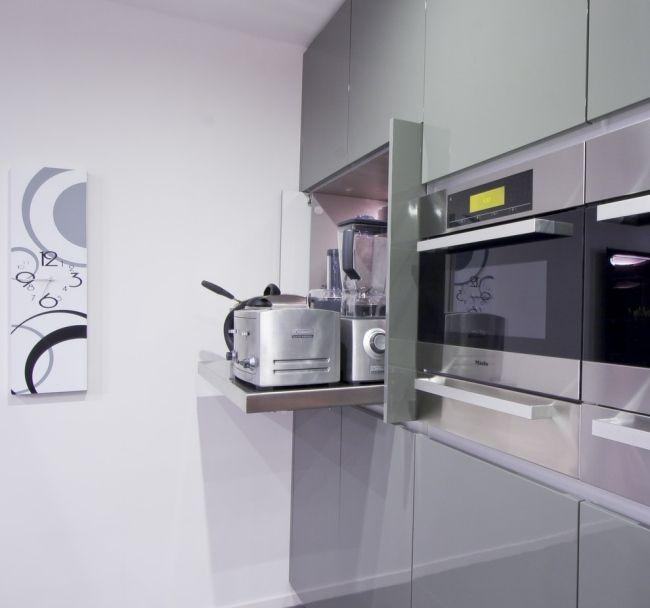 kücheneinrichtung kleine küche einrichten küchengestaltung Küche - kleine küchenzeile mit elektrogeräten