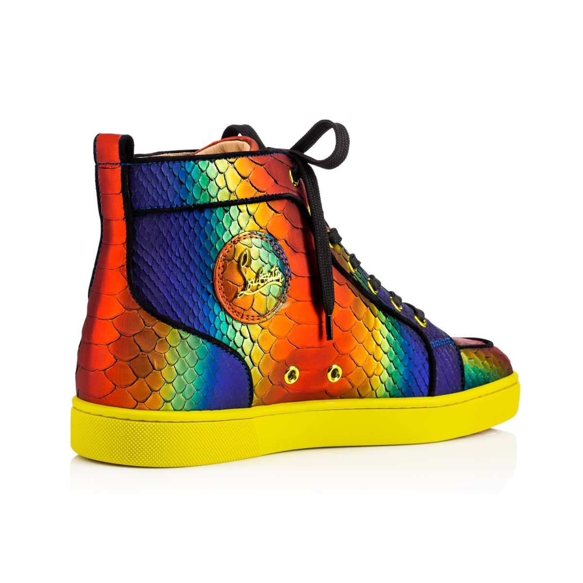 christian louboutin mens shoes colorful