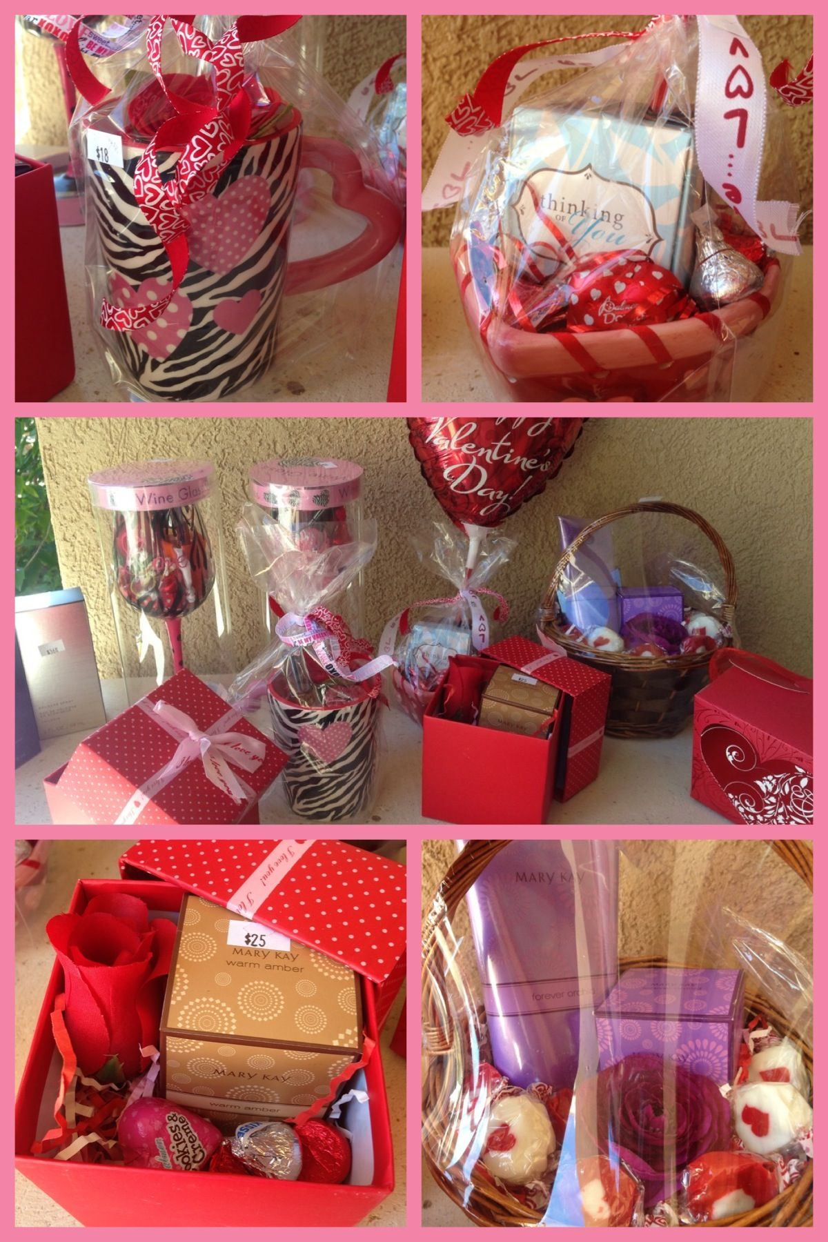 Mary Kay Valentine's Day Baskets •Starting as low as 10