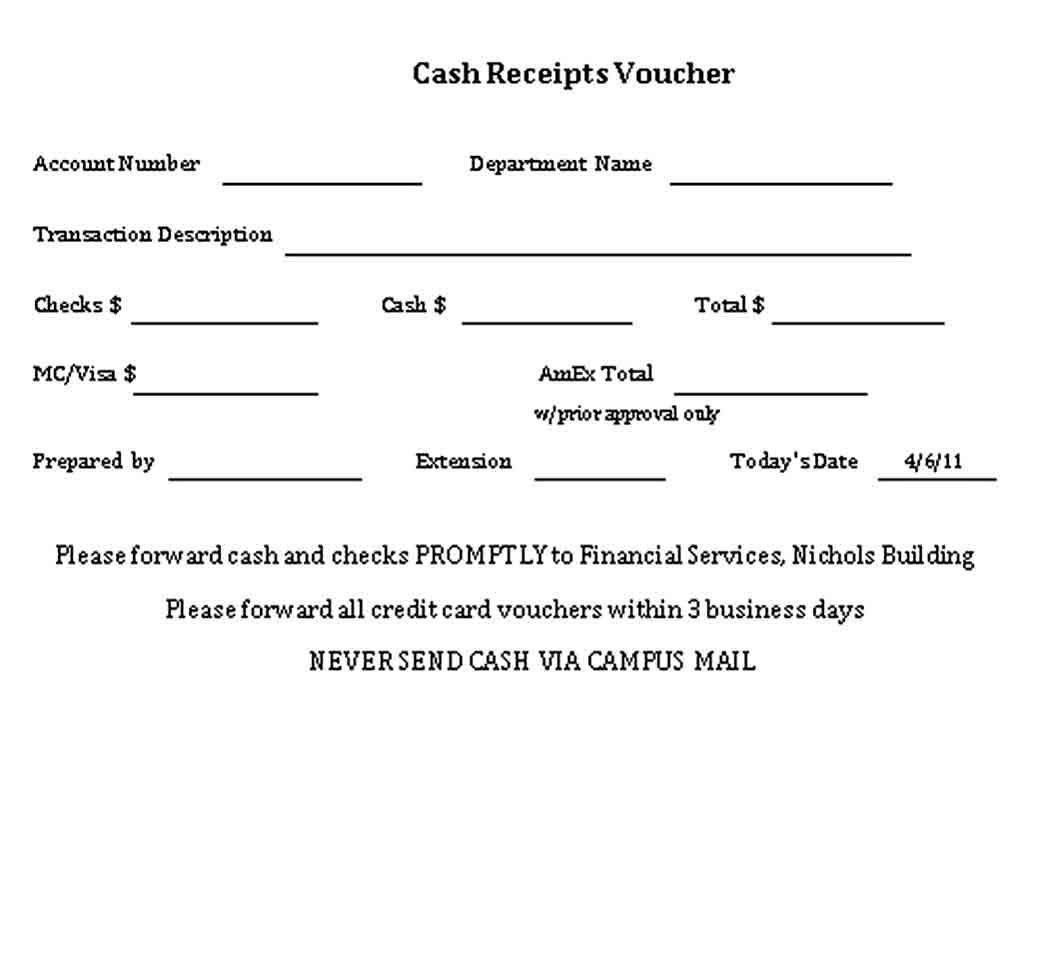 Money Cash Receipt Money Cash Receipt Template Business Template