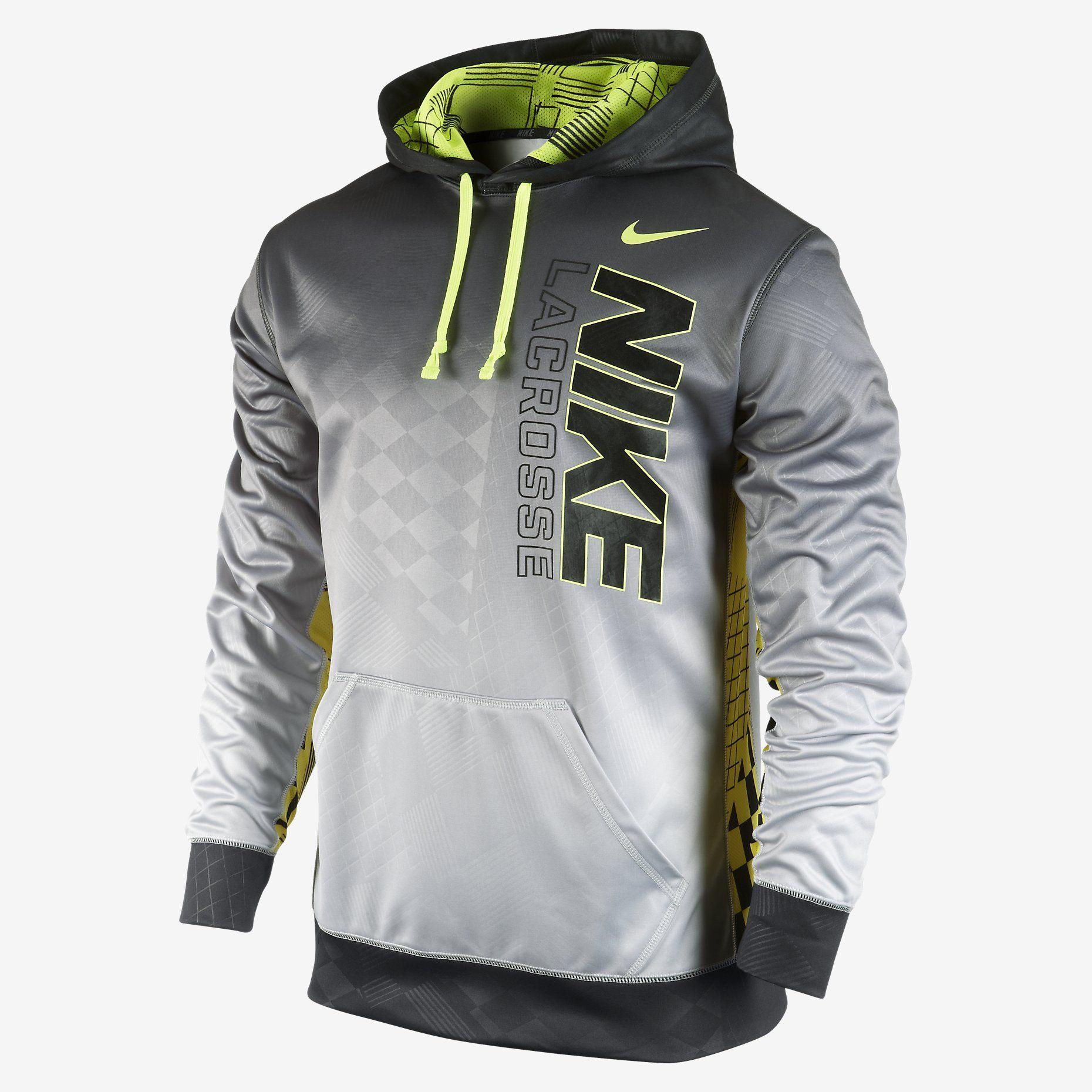 Nike KO Pullover Men's Lacrosse Hoodie. Nike Store