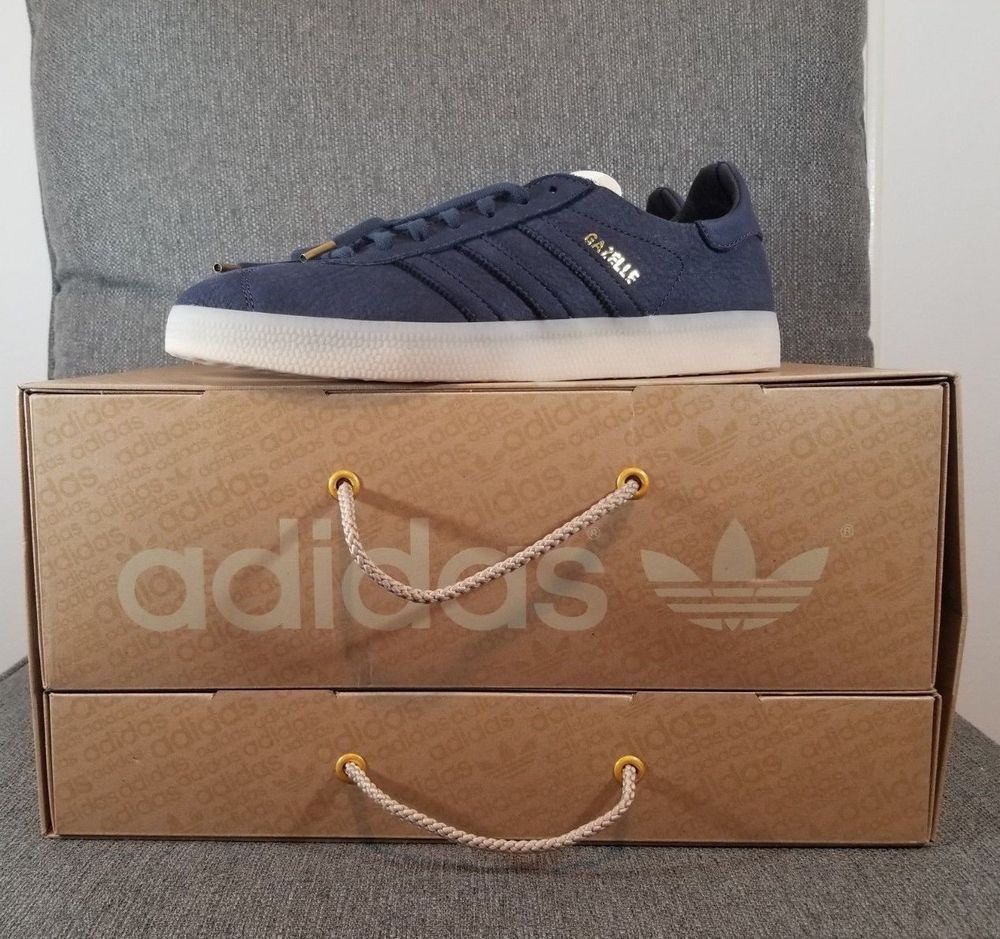 ADIDAS ORIGINALS GAZELLE CRAFTED LIMITED EDITION TRAINERS