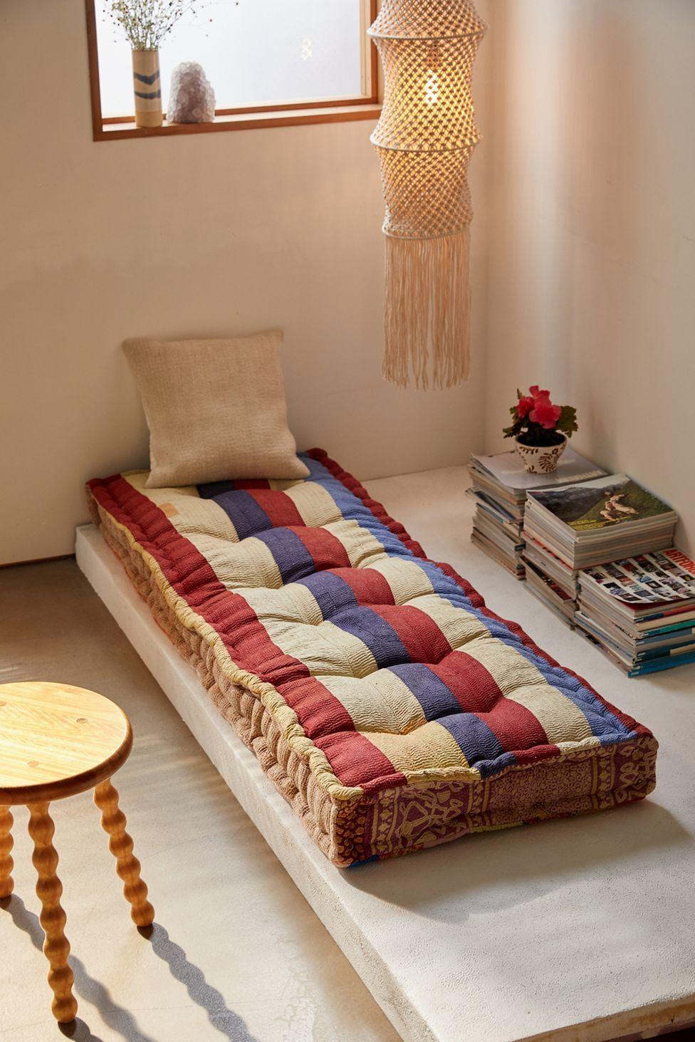 Urban Renewal Rohini Kantha Daybed Cushion Urban