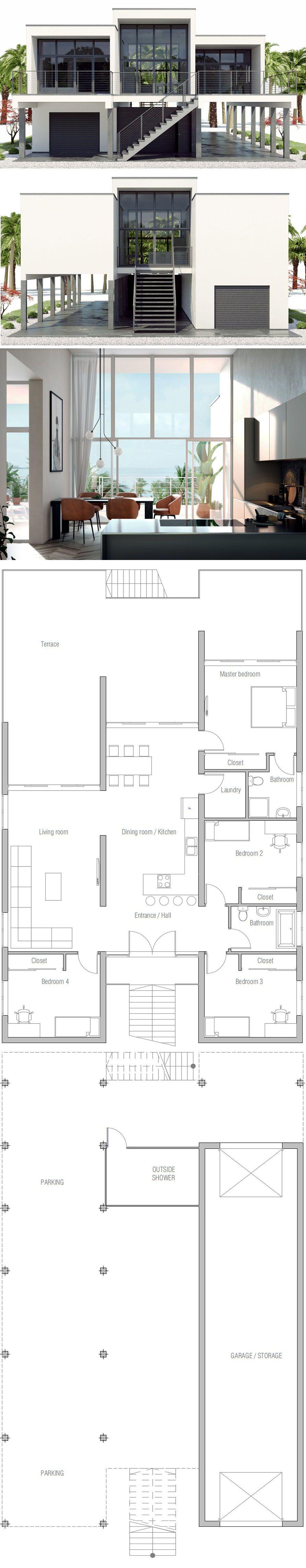 Plan De Maison Maison Minimaliste Maisons Minimalistes