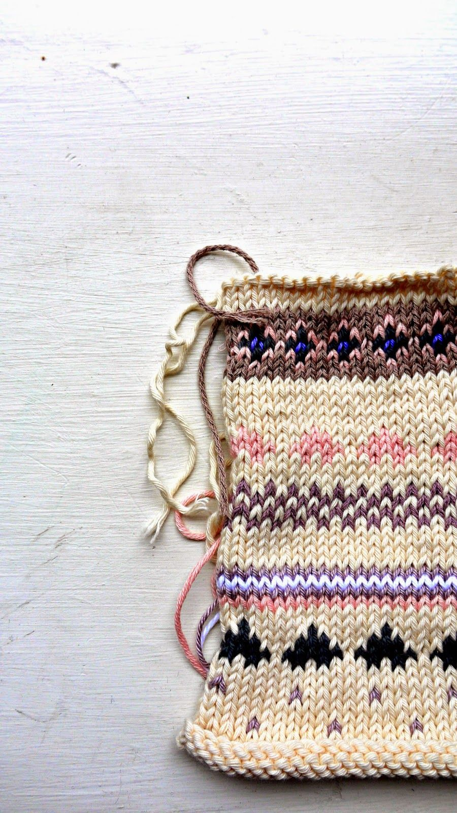 Porcupine Design: fair isle nordic knits (from Nikki Trench)