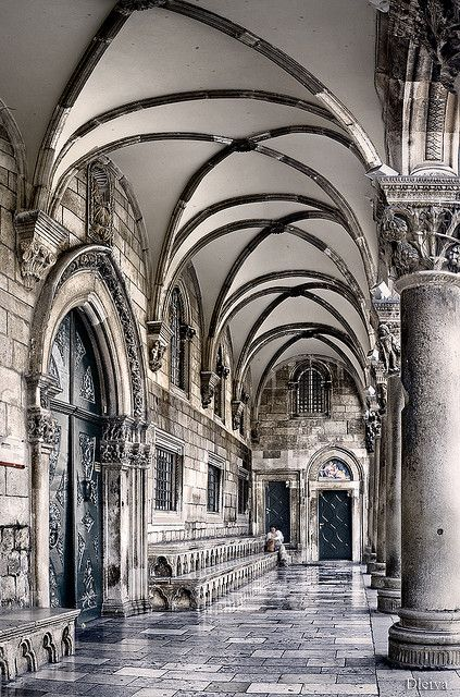 The Rector´s Palace, old town Dubrovnick. Croatia