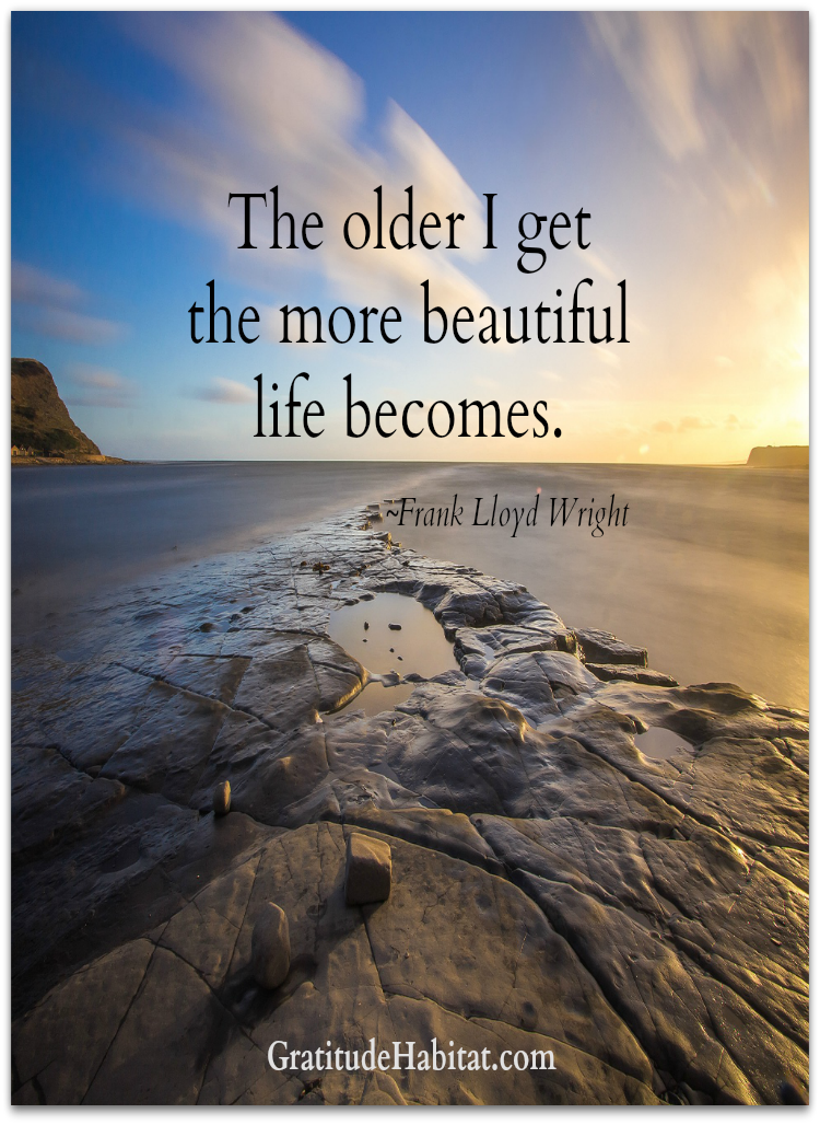 Life is beautiful. Visit us at: www.GratitudeHabitat.com ...