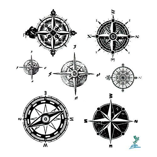 The Best Compass Tattoo Designs Ideas And Images With Meaning And Drawings Compass Tattoos Inspiratio Compass Tattoo Compass Tattoo Design Compass Tattoo Men