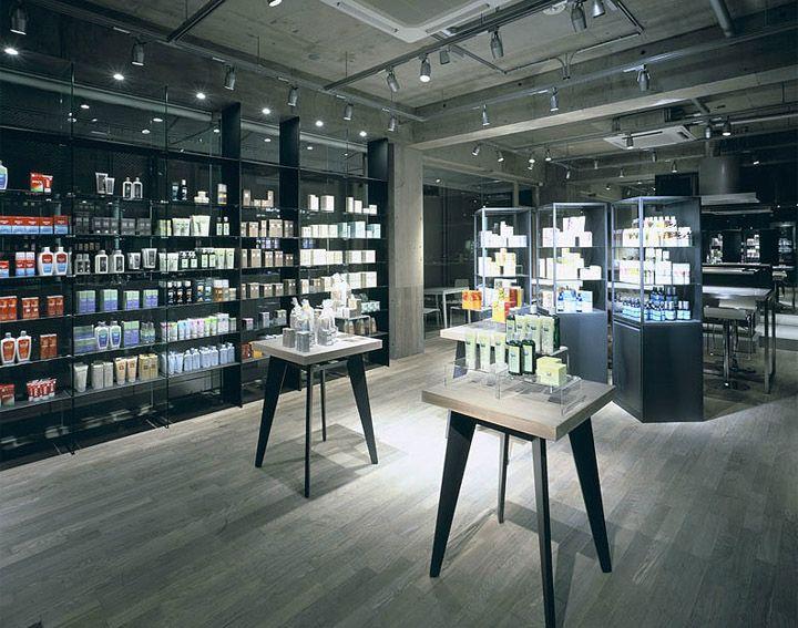 Logona friends store spa by ito masaru design for Retail store design software