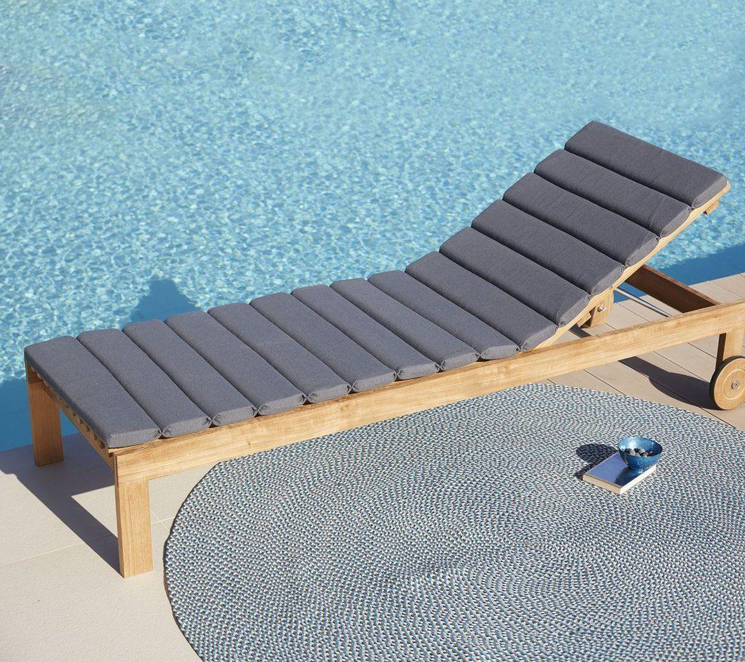 Amaze Chaise Lounge Sunbed Outdoor Furniture Design Teak Furniture