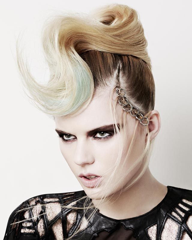Hairdressers Journal - British Hairdressing Newcomer of the Year Award Winner 2014 - Jamie Benny