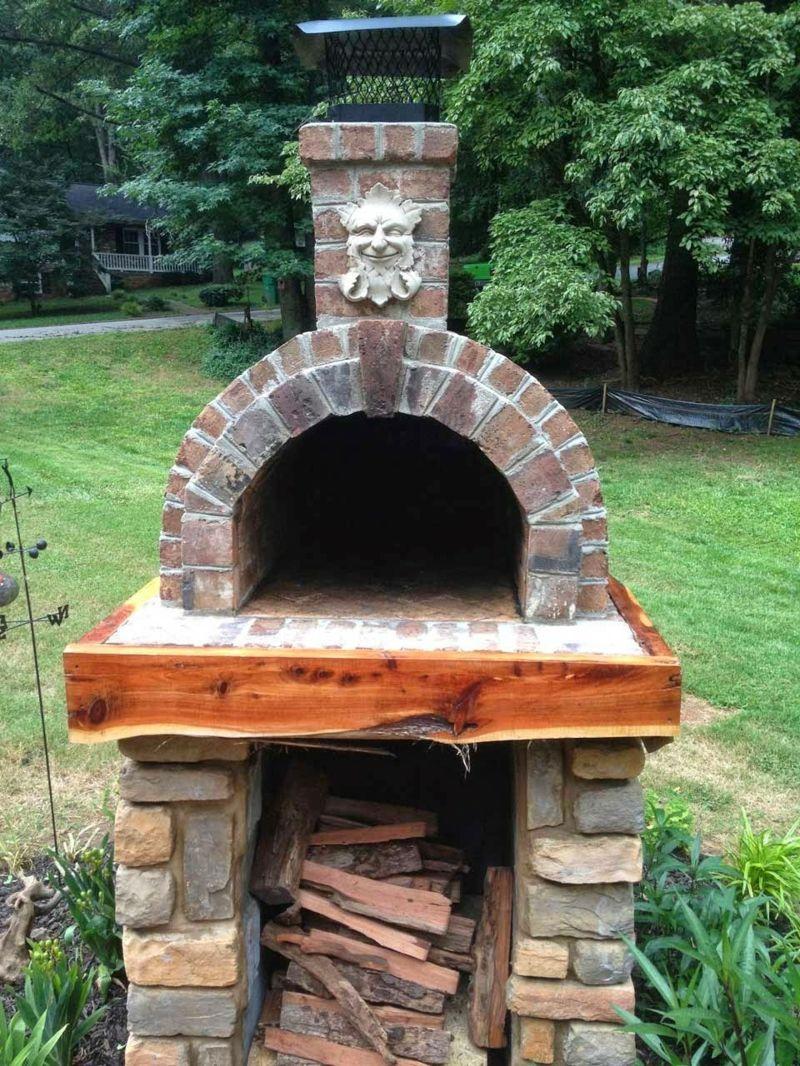 Pizzaofen bauen anleitung und fotos diy garten haus garten pizzaofen bauen pizzaofen - Pizzaofen garten selber bauen ...