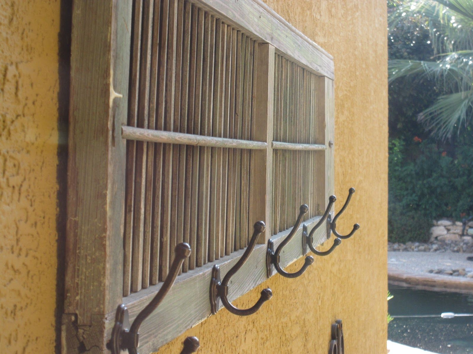Farmhouse Wooden Headboard