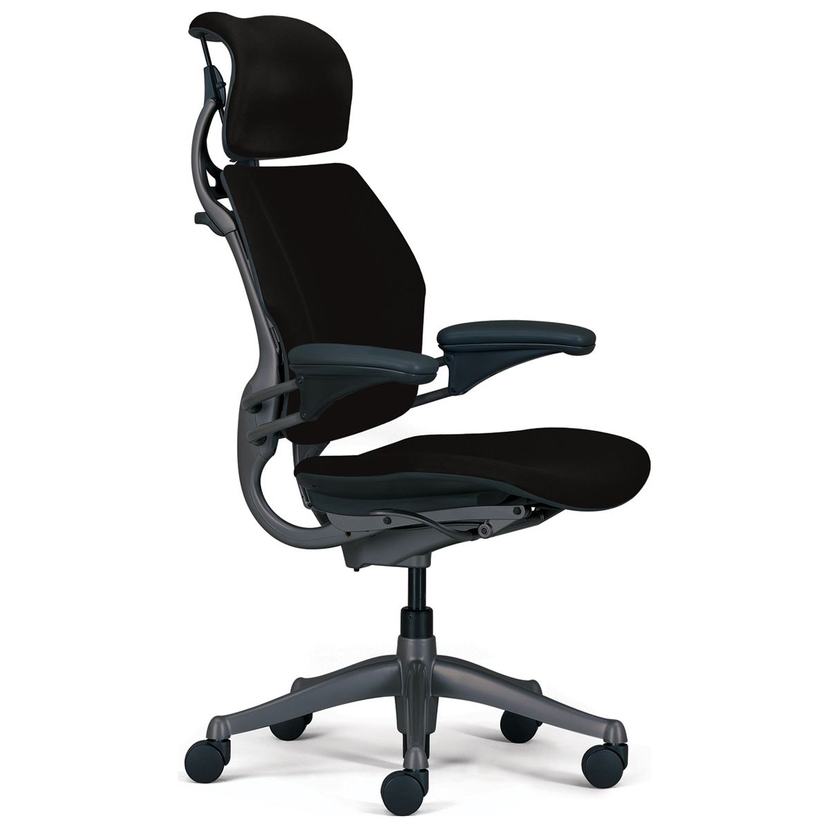 Humanscale chairs featuring the freedom and liberty chairs
