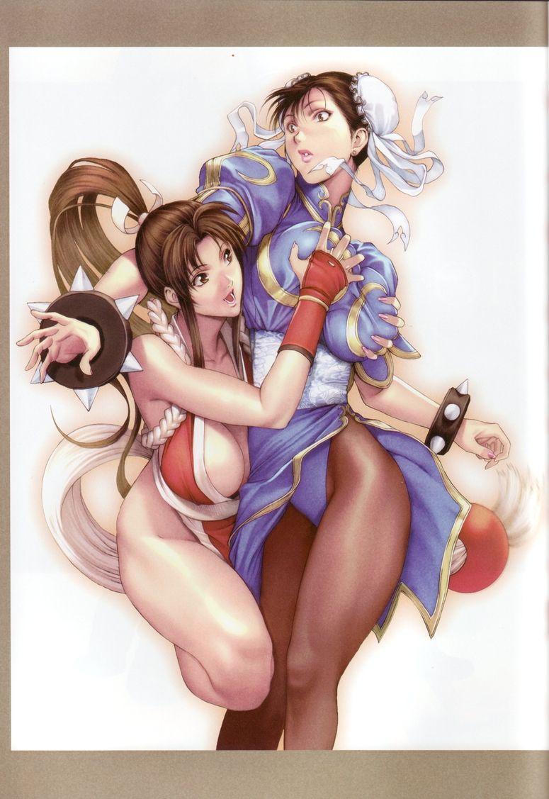 Anime yuri sex gif