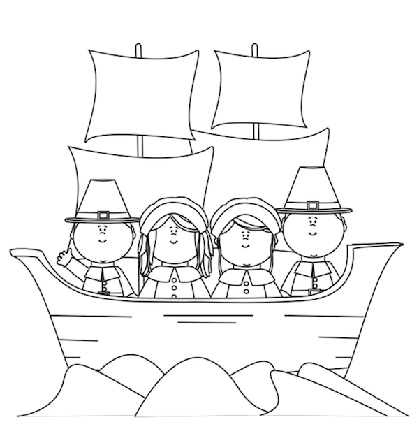 mayflower coloring pages for preschool - photo#14
