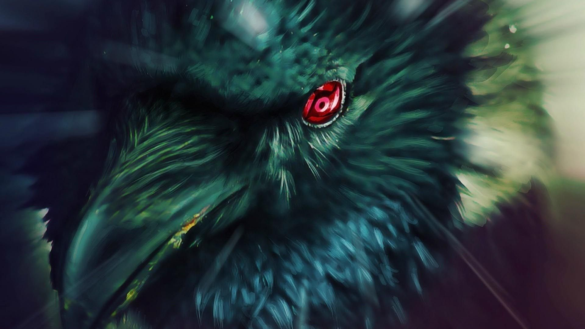 Naruto Shippuden Crow Raven Bird Wallpaper anime/manga