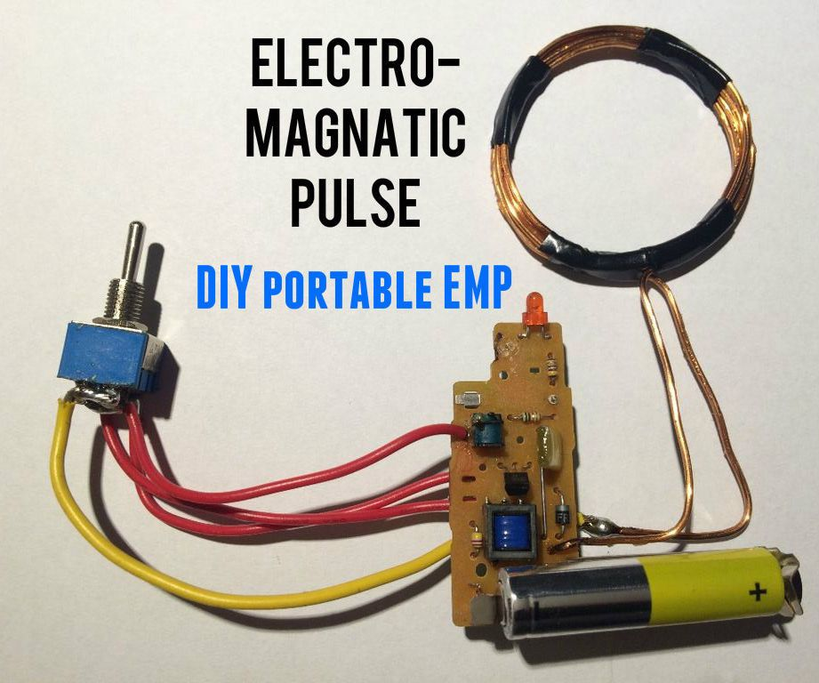 EMP Generator Electronics projects, Diy electronics, Diy
