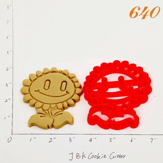 Plants Vs Zombies Cookie Cutter plants vs by JBKCookieCutter